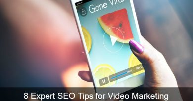 8 Expert SEO Tips for Video Marketing